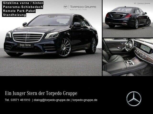 Mercedes-Benz S 560 AMG NACHTSICHT+MULTIBEAM+PANO+COMAND+360°+, Jahr 2019, Benzin
