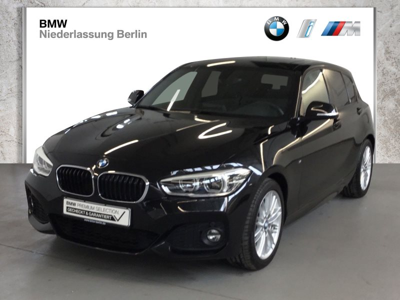 BMW 120i 5-Türer EU6 Aut. M Sport Leder LED Navi GSD, Jahr 2017, Benzin