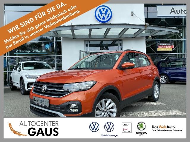 Volkswagen T-Cross 1.0 TSI ACC Klima App-Connect LM-Felgen, Jahr 2019, Benzin