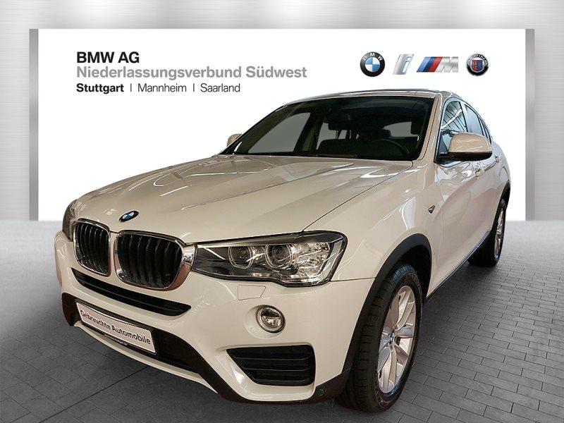 BMW X4 xDrive20d Advantage HiFi Xenon RFK Navi Bus., Jahr 2017, Diesel