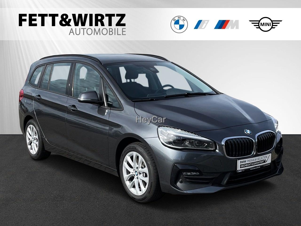 BMW 218 Gran Tourer Aut. Sports. Navi SHZ LED PA, Jahr 2020, Diesel