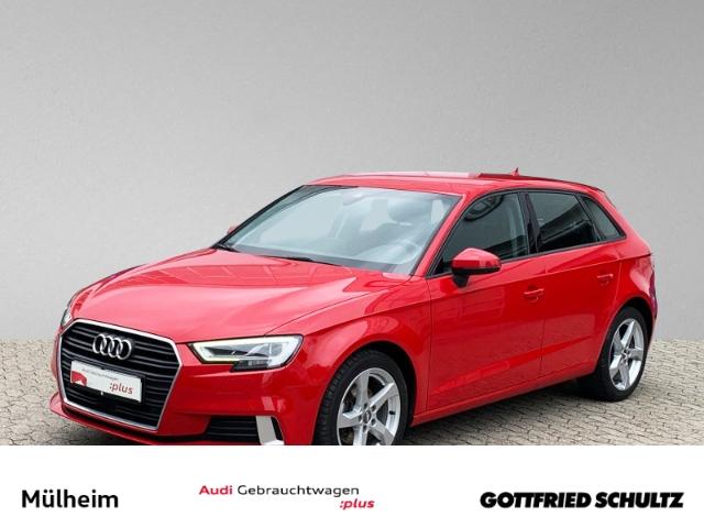 Audi A3 Sportback 1.5 TFSI NAVI KAMERA LED MUFU TEMP, Jahr 2018, Benzin