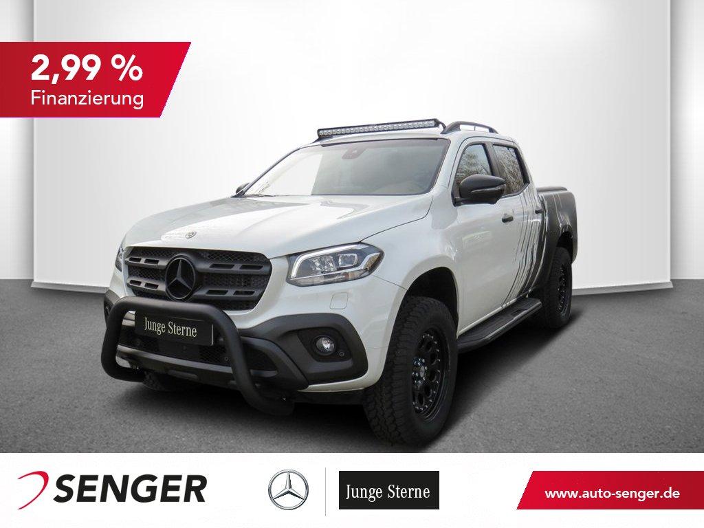 Mercedes-Benz X 350 d POWER LAZER LIGHTBAR+FRONTBÜGEL+AT-RÄDER, Jahr 2020, Diesel