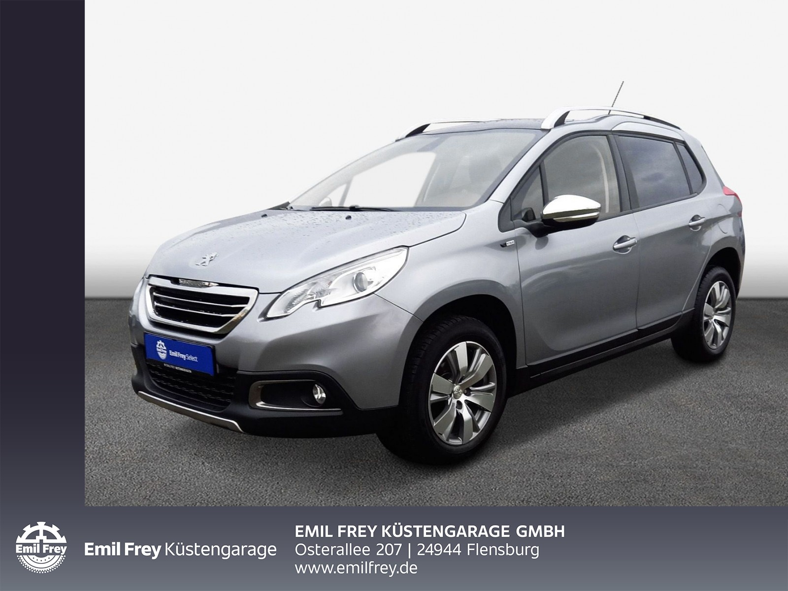Peugeot 2008 BlueHDi 100 -Active- 5-Gang Klima/ GRA/ PDC/ Panoramadach/ LM, Jahr 2016, Diesel