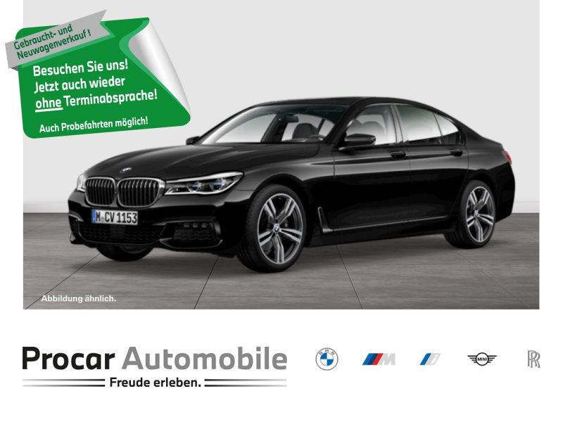 BMW 740d xDrive M Sport DA + Laser H/K 360° HuD Glasd., Jahr 2016, Diesel