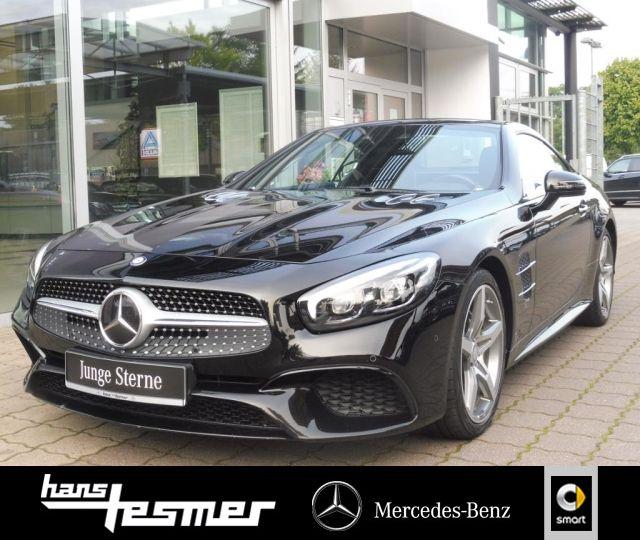 Mercedes-Benz SL 400 AMG+B&O+Sitzk.+Massage+Kamera+Keyless+ABC, Jahr 2016, Benzin