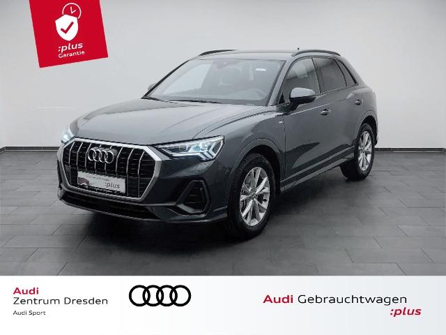 Audi Q3 40 TDI quattro S line Matrix LED AHZV DAB, Jahr 2020, Diesel