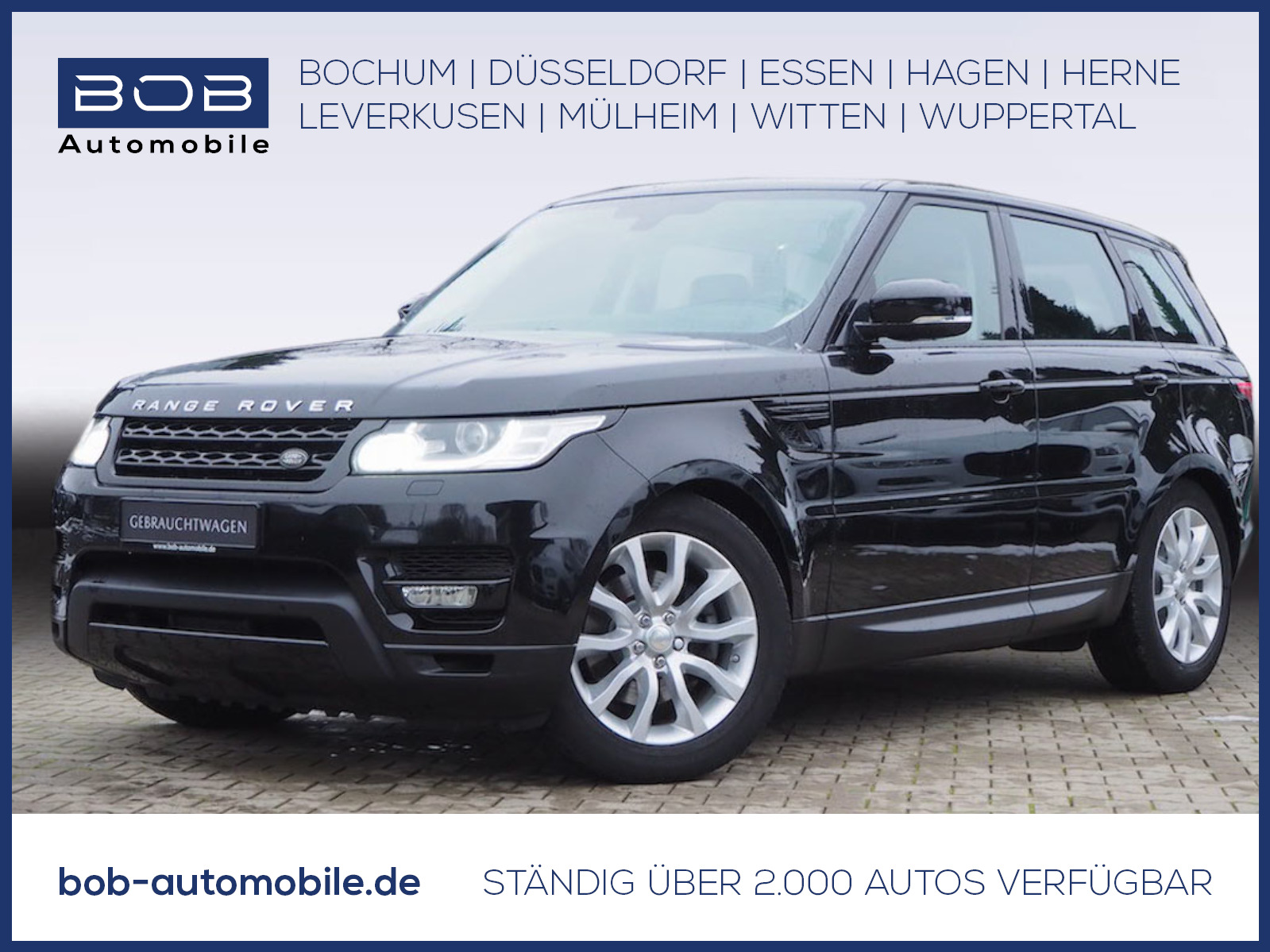Land Rover Range Rover Sport TDV6 HSE NAVI PANO, Jahr 2015, Diesel