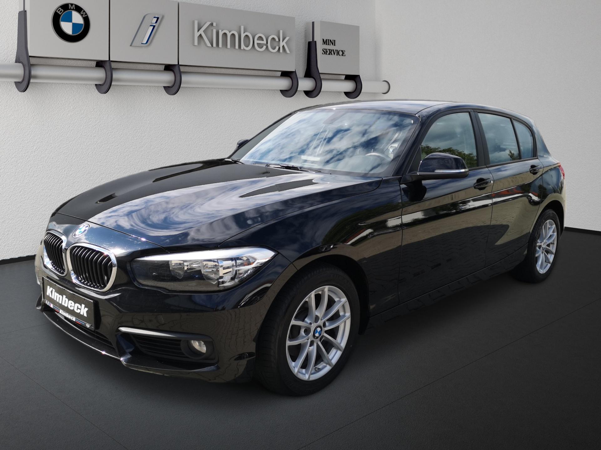 BMW 116i 5-Türer Advantage Klima PDC Freisprech, Jahr 2017, Benzin