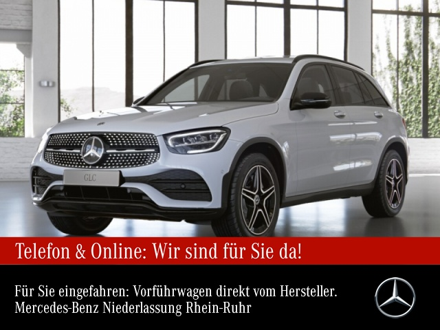 Mercedes-Benz GLC 200 4M AMG+Night+AHK+LED+Kamera+Spur+Totw+9G, Jahr 2020, Benzin