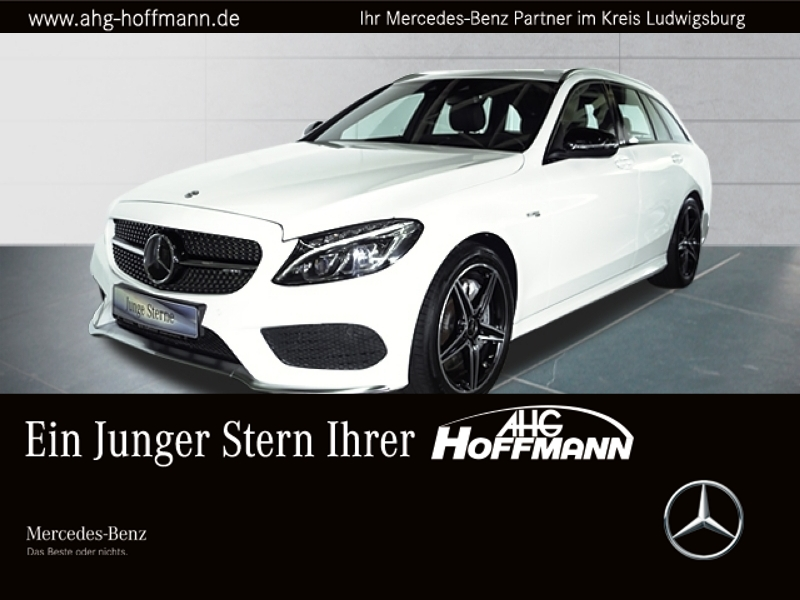 Mercedes-Benz C 43 4M T AMG+LED+Navi+Kam+PDC+elSitze+Distronic, Jahr 2017, petrol