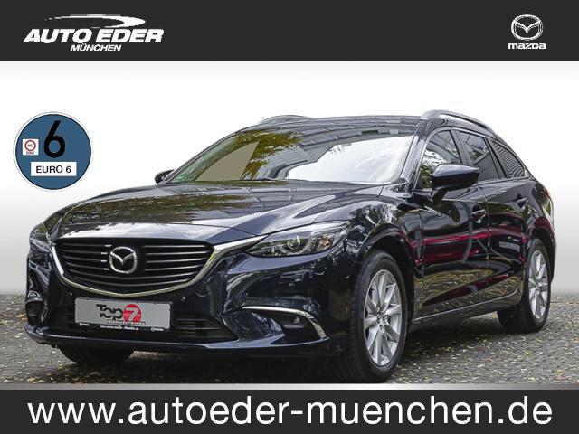 Mazda 6 2.2 CD SKYACTIV-D 150 Exclusive-Line Navi, Tempo, Jahr 2015, Diesel