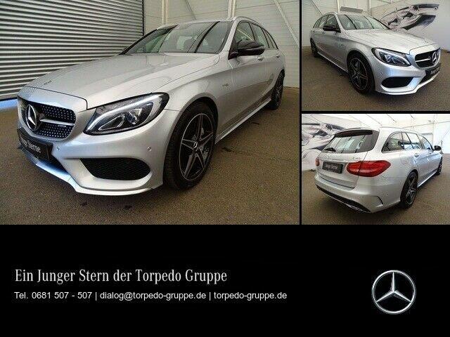 Mercedes-Benz C 43 AMG 4M T LED+PTS+SHZ+KLIMA+EASY-PACK+Regen, Jahr 2017, Benzin