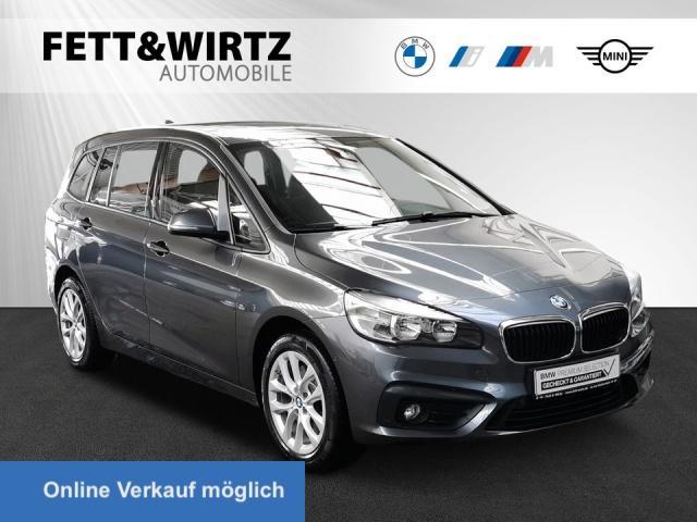 BMW 220 Gran Tourer Aut. Navi Sportsitze Sitzhz PDC, Jahr 2018, Benzin