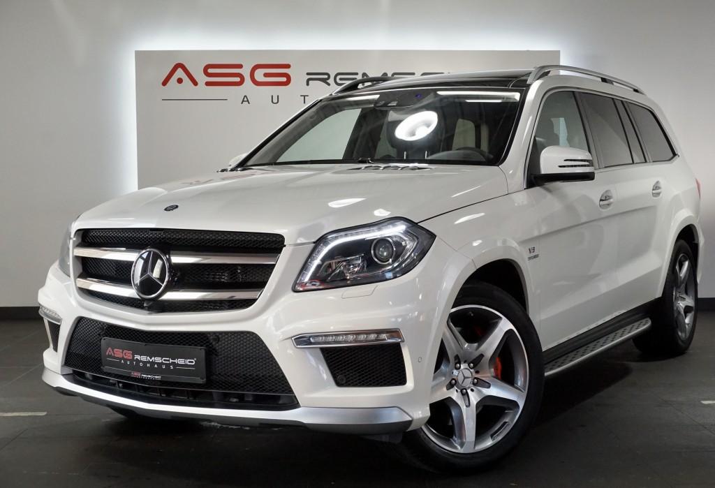 Mercedes-Benz GL 63 AMG 4M *NP.160tsd *TV *7Sitz *Distr. *Pano, Jahr 2014, Benzin