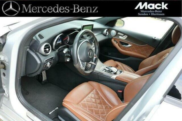 Mercedes-Benz C 450 AMG T 4Matic *DISTRONIC*Pano.*LED*Designo, Jahr 2016, Benzin
