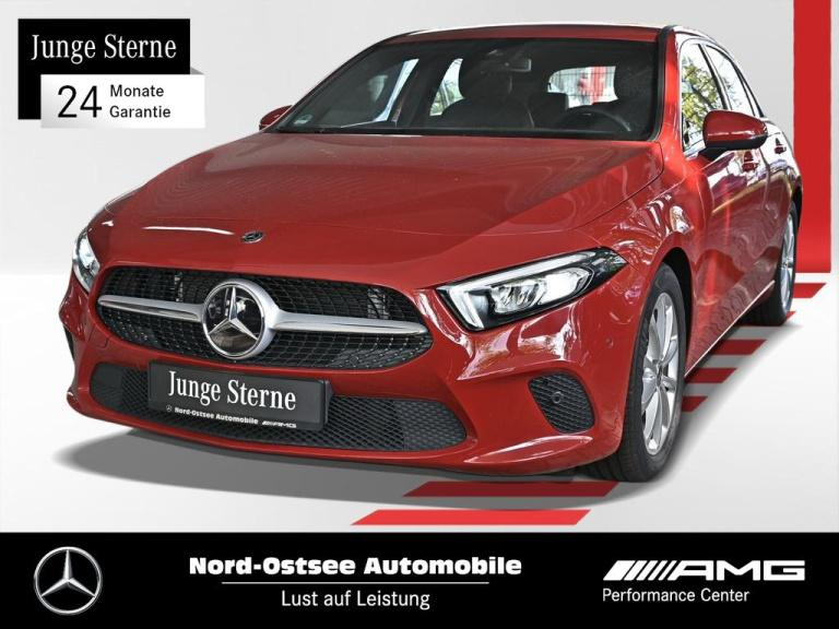 Mercedes-Benz A 180 Progressive Navi LED MBUX SHG Parktronic, Jahr 2019, Benzin