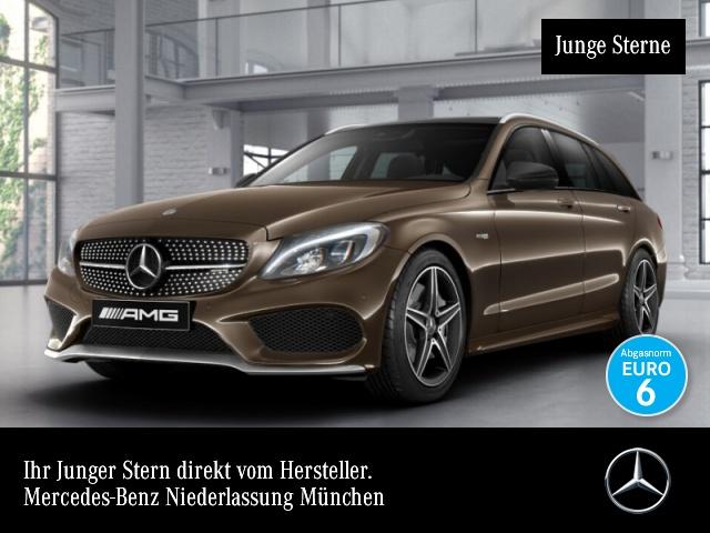 Mercedes-Benz C 43 AMG T 4M Pano COMAND LED AHK Kamera PTS, Jahr 2016, petrol