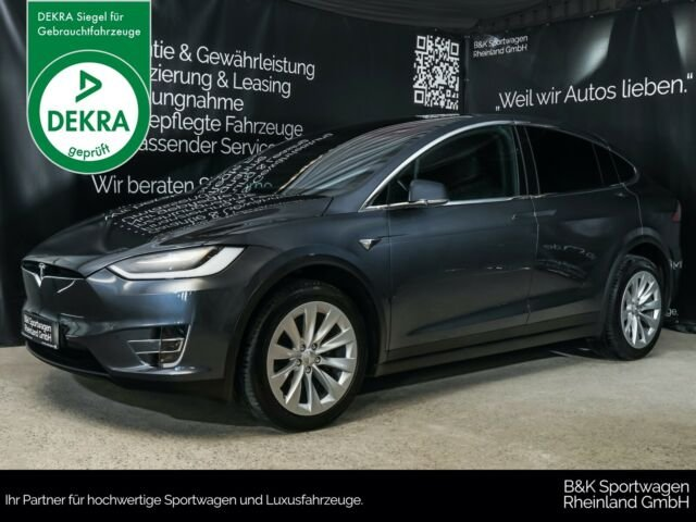 "Tesla Model X 90D LED/AHK/AUTOPILOT/SMART-AIR/20"", Jahr 2017, Elektro"