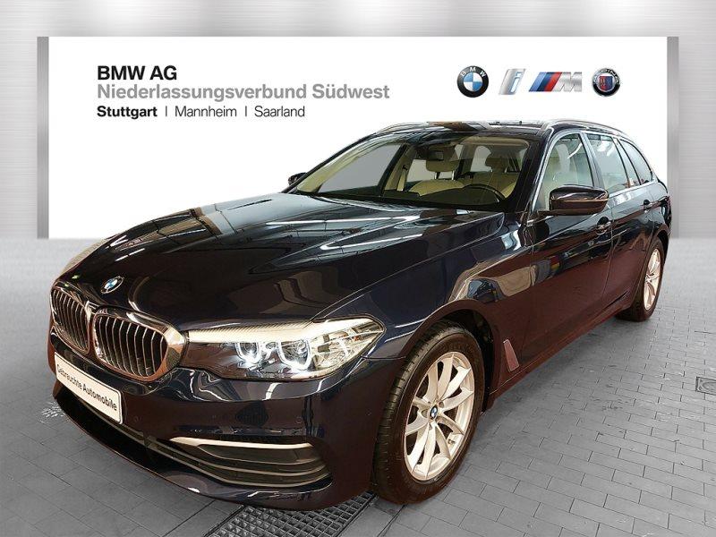 BMW 520d Touring Standhzg. Pano.Dach Navi Bus. Shz, Jahr 2017, Diesel