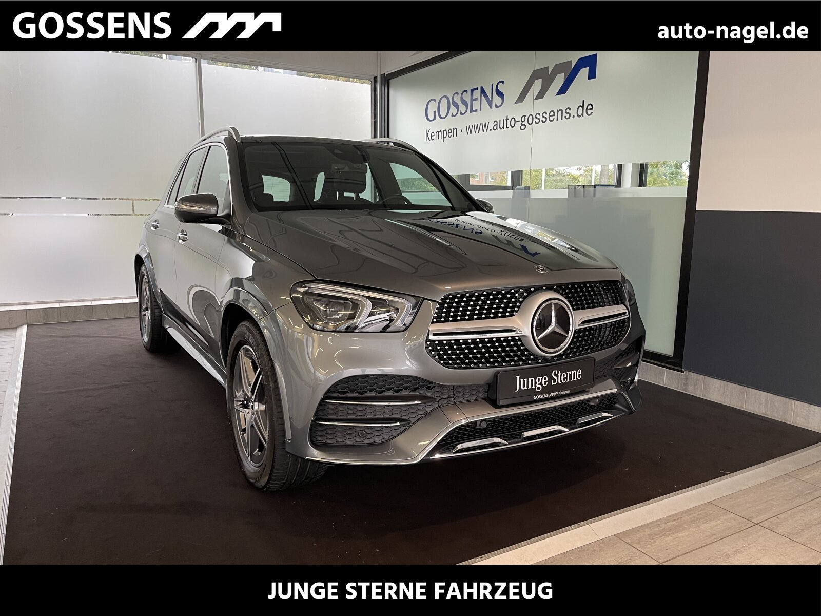 Mercedes-Benz GLE 450 4M AMG +COMAND+MULTIBEAM+AHK+PTS+360°+, Jahr 2019, Benzin