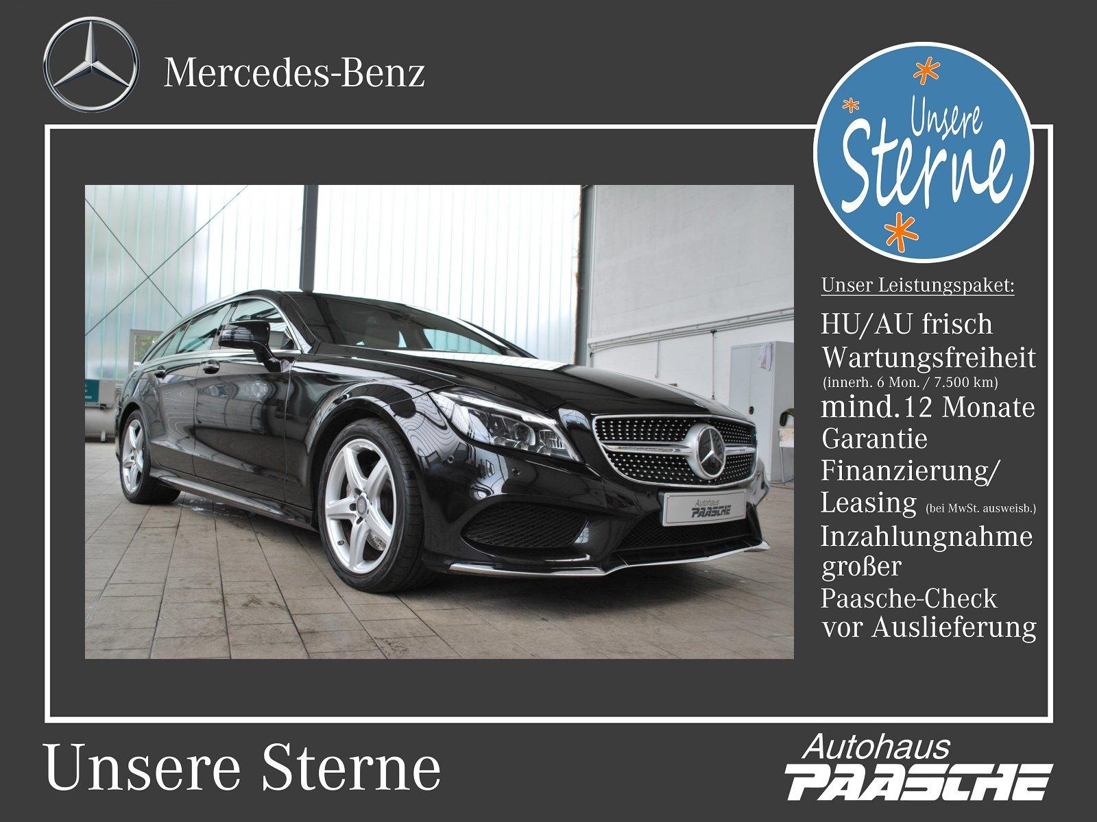 Mercedes-Benz CLS 400 Shooting Brake AMG Line/COMAND/SHD Klima, Jahr 2016, Benzin