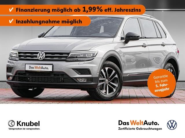 Volkswagen Tiguan IQ.DRIVE 1.5 TSI Fahrass+ AHK ActiveID Na, Jahr 2019, Benzin
