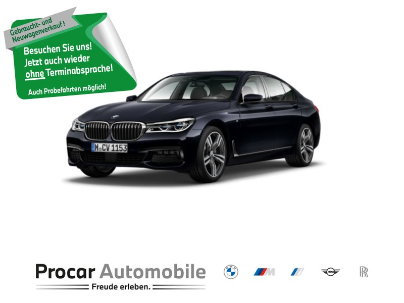 BMW 730d xDrive Limousine M-Sport 20 RFK Glasd h&k HuD LED, Jahr 2018, Diesel