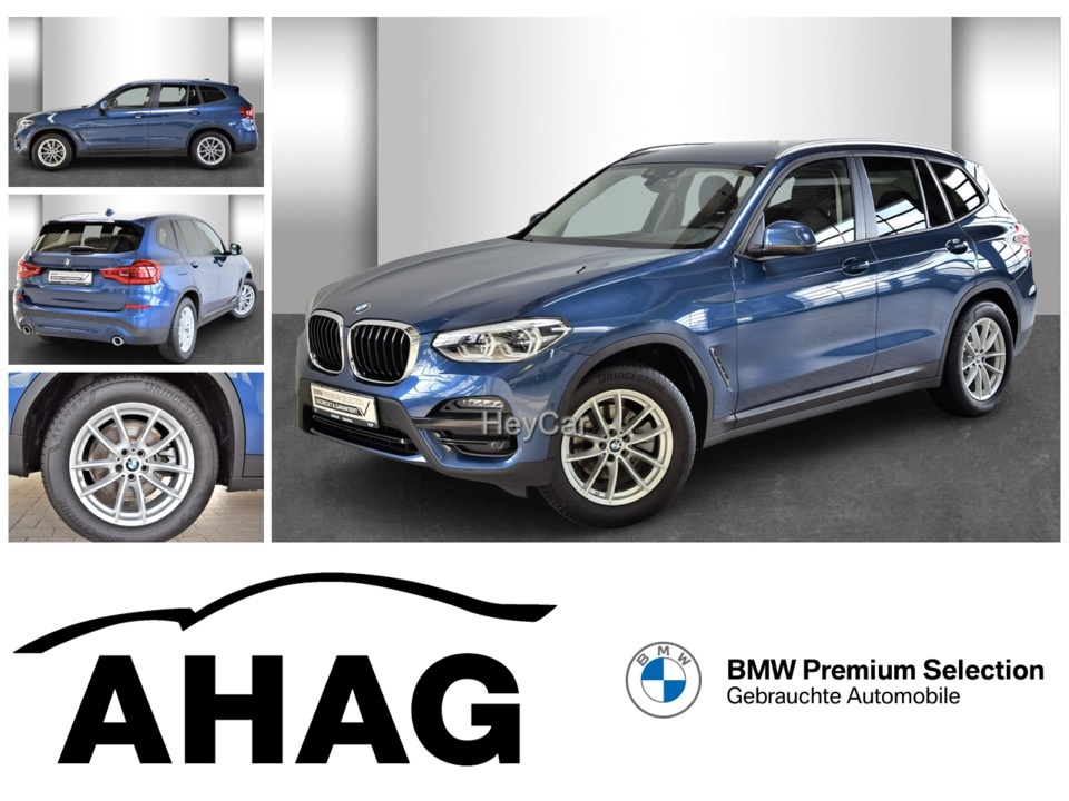BMW X3 xDrive20i ADVANTAGE AT Aut. AHK Leas.ab 552Euro, Jahr 2020, Benzin