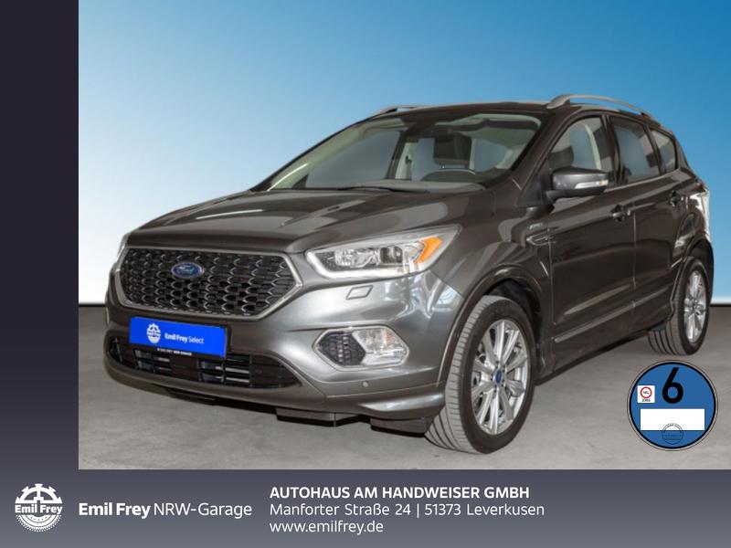 Ford Kuga 2.0 TDCi 4x4 Vignale, Navi, Rfk, Leder,, Jahr 2016, Diesel