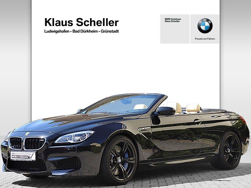 BMW M6 Cabrio M POWER LED Navi Prof Harman Kardon, Jahr 2018, Benzin