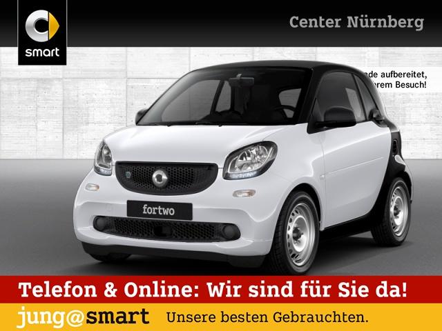 smart fortwo coupé 60kWed cool&Audio Tempom Klima Radio, Jahr 2018, Elektro