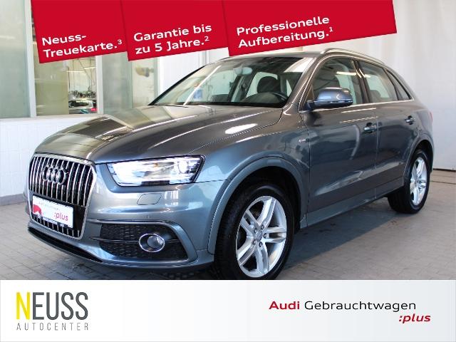 Audi Q3 2.0 TDI S line Selection XENON+AHK+BT+NAVIGAT, Jahr 2014, Diesel