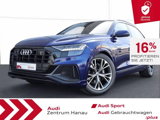 Audi Q8 50 TDI S-line HD-MATRIX*PANO*AHK*ACC*LUFT*, Jahr 2019, Diesel