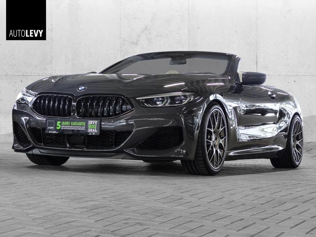 BMW M850i Cabrio AC-Schnitzer *LASER*SOFTCLOSE*B&W*, Jahr 2019, Benzin