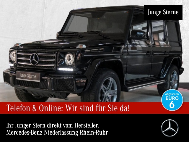 Mercedes-Benz G 350 d Stdhzg Sportpak Harman Xenon Kamera PTS, Jahr 2017, Diesel