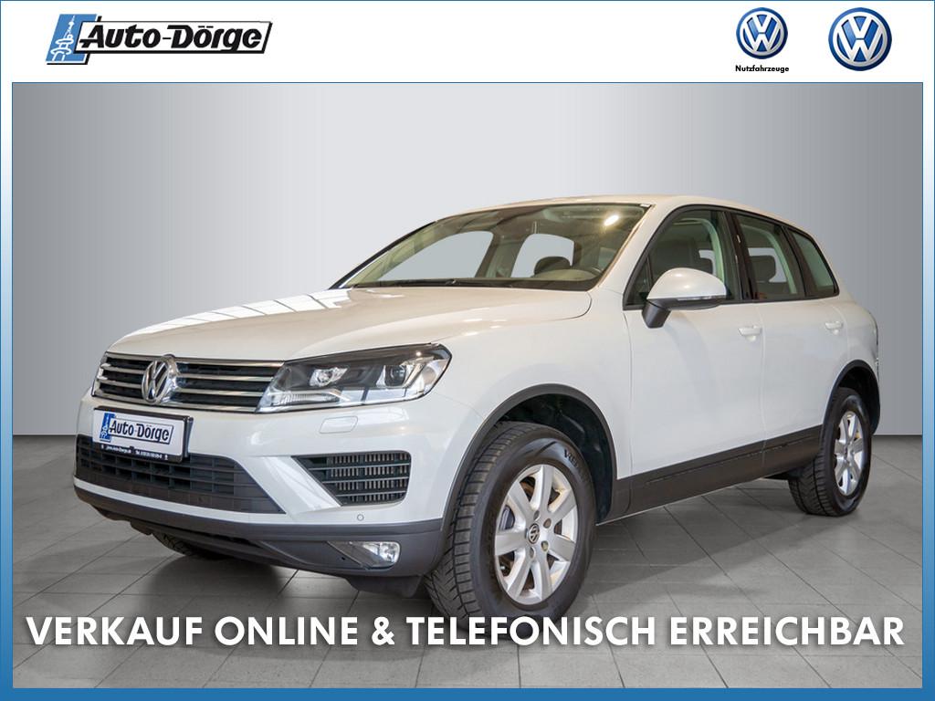 Volkswagen Touareg TDI+ALLRAD+AUTOMATIK+NAVI+PANORAMA+LEDER+XENON, Jahr 2016, Diesel