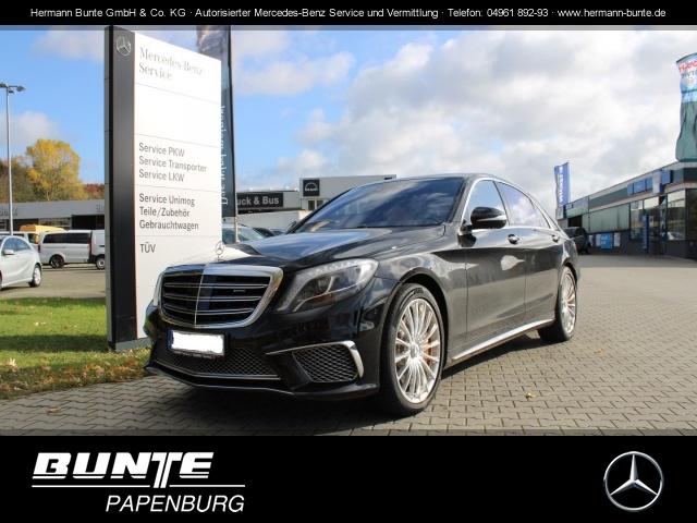 """Mercedes-Benz S 65 L AMG V12 Autom+4 Sitzer+Keramikbremse+20""""+, Jahr 2013, petrol"""