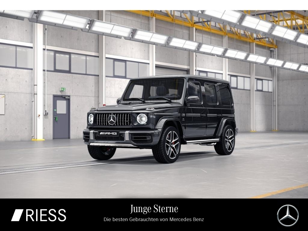 Mercedes-Benz G 63 AMG Com Schiebe Burmes Keyl Distr AHK Stand, Jahr 2019, Benzin