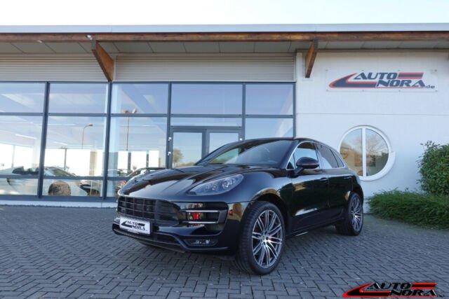 Porsche Macan Turbo PDK Vollleder Sitzbelüftung PDLS, Jahr 2014, petrol