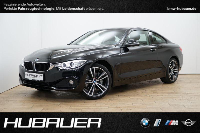 BMW 435d xDrive Coupé A [Navi, AHK, RFK, 19 LMR], Jahr 2014, diesel