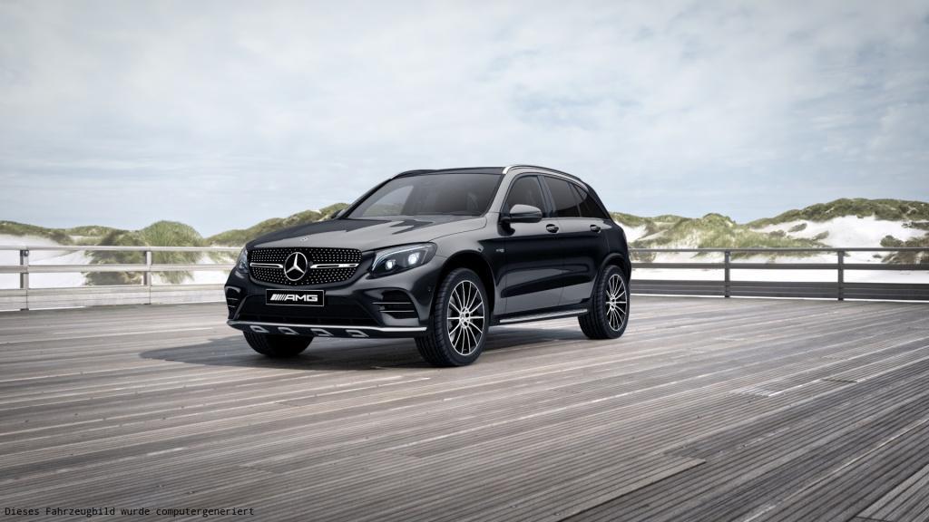 Mercedes-Benz GLC 43 4MATIC Designo/Burmester/Comand, Jahr 2017, Benzin