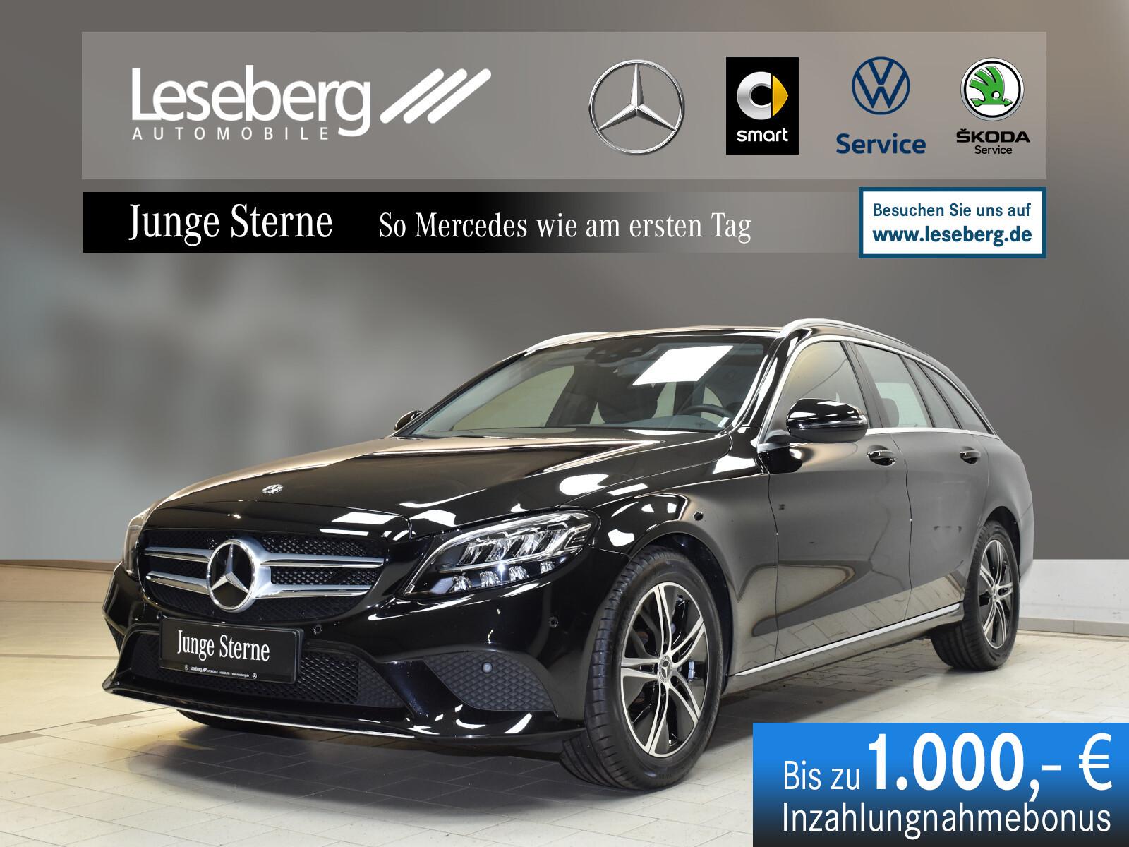 Mercedes-Benz C 180 T Avantgarde/Kamera/LED/9G/Navi/Totwinkel, Jahr 2020, Benzin
