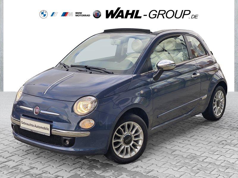 Fiat 500C 1.2 Pop Star Leder Klima MFL TOP Zustand, Jahr 2014, Benzin
