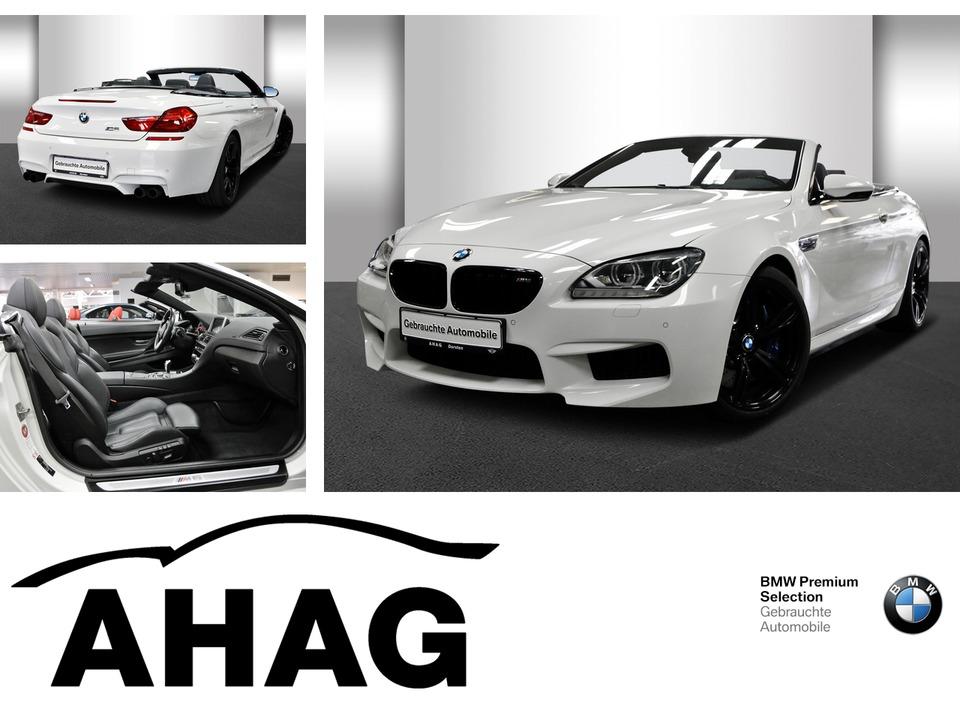BMW M6 Cabrio M *DKG*Navi*LED*Head-Up*Kamera*Hifi*, Jahr 2012, petrol