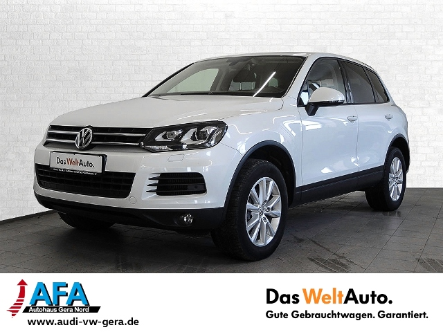 Volkswagen Touareg V6 3,0 TDI 4M tiptr. AHK*Navi*Xenon*LEDE, Jahr 2013, Diesel