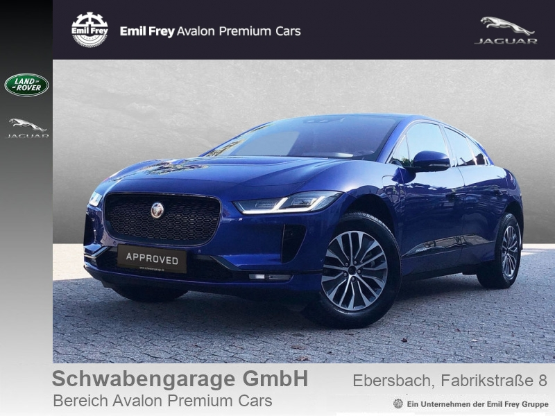 Jaguar I-Pace EV400 AWD SE 20''+HUD+Black-Pack+ACC, Jahr 2018, electric