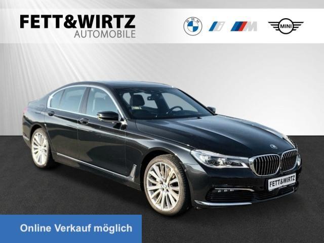 BMW 740d xDrive NaviProf GSD HUD TV DA+ Kamera Laser, Jahr 2017, Diesel