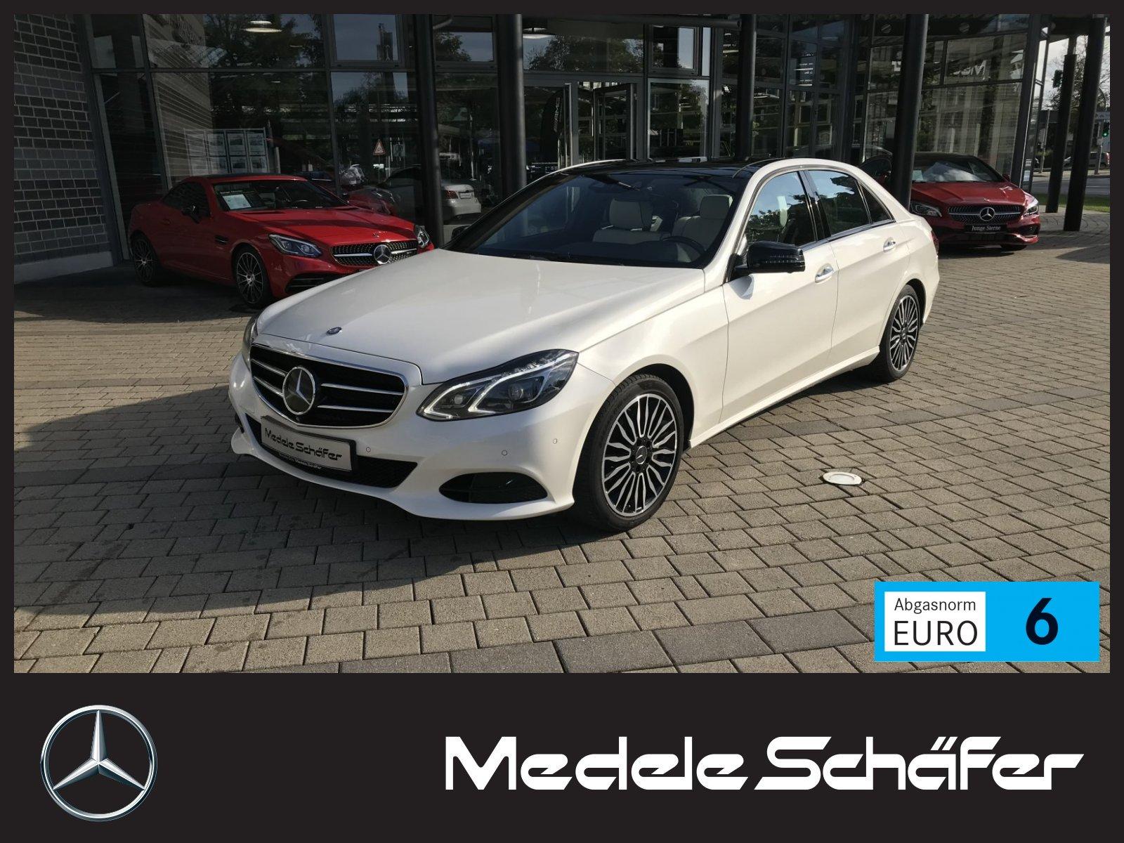 Mercedes-Benz E 500 4M Night Exklusiv Dist PanoSD Keyl AHK Air, Jahr 2015, Benzin