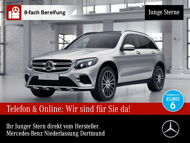 Mercedes-Benz GLC 250 4M AMG Fahrass Pano Distr. COMAND ILS LED, Jahr 2018, Benzin